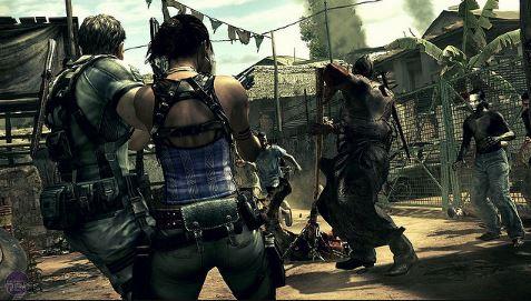 Resident Evil 5 ps4 image4.JPG