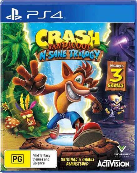 Crash Bandicoot N. Sane Trilogy ps4 image1.JPG